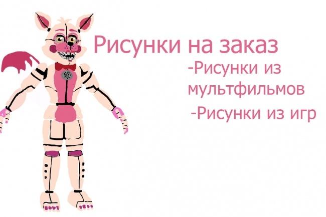 Рисунки на заказ 1 - kwork.ru