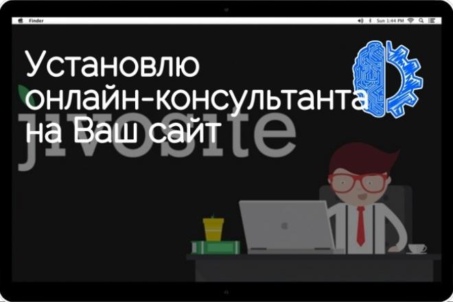 Установлю онлайн-консультанта на Ваш сайт 1 - kwork.ru