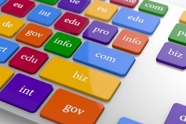 Подбор и регистрация домена для вашего сайта под ключ 1 - kwork.ru