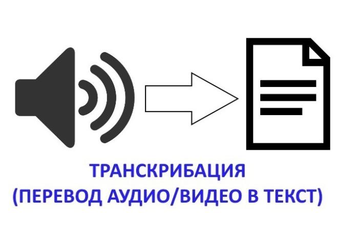 Быстро и качественно переведу Ваши записи в текст 1 - kwork.ru