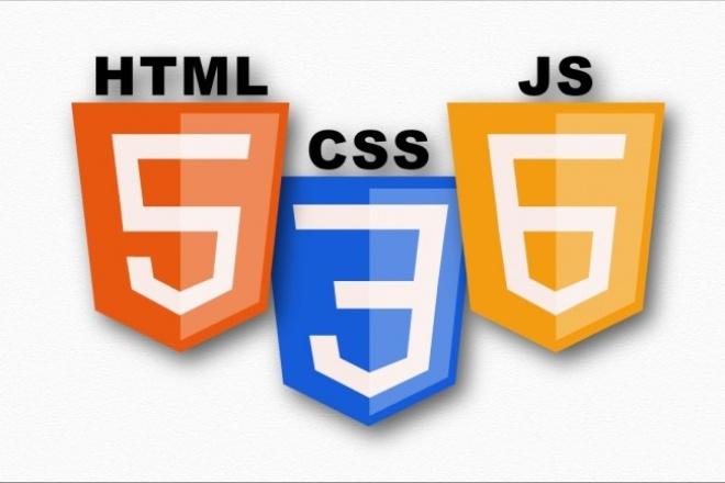 Верстка psd -> html5+css3+js(jquery) 1 - kwork.ru