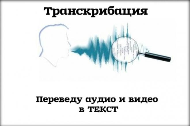 Транскрибация. Переведу аудио- и видеоматериалы в текст 1 - kwork.ru