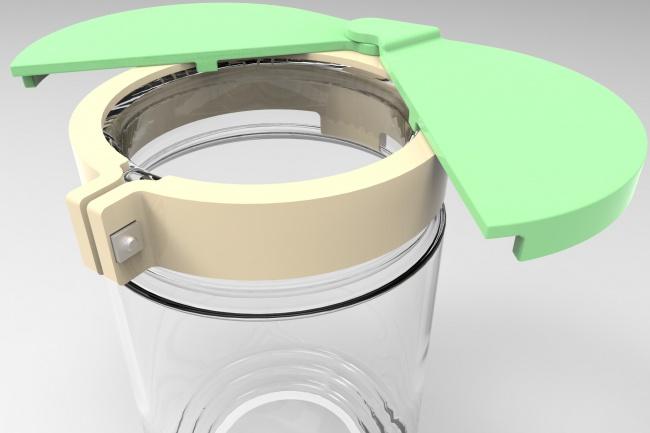 смоделирую объект в SolidWorks 1 - kwork.ru