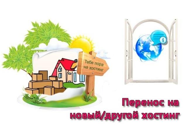 Перенесу Ваш сайт на новый/другой домен или хостинг под ключ 1 - kwork.ru