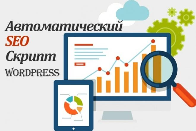Установлю и настрою автоматический SEO скрипт на WordPress 1 - kwork.ru