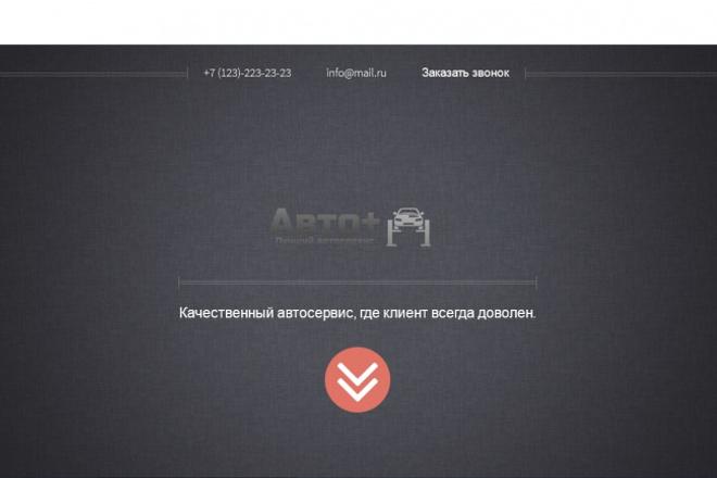сделаю верстку с макета 1 - kwork.ru