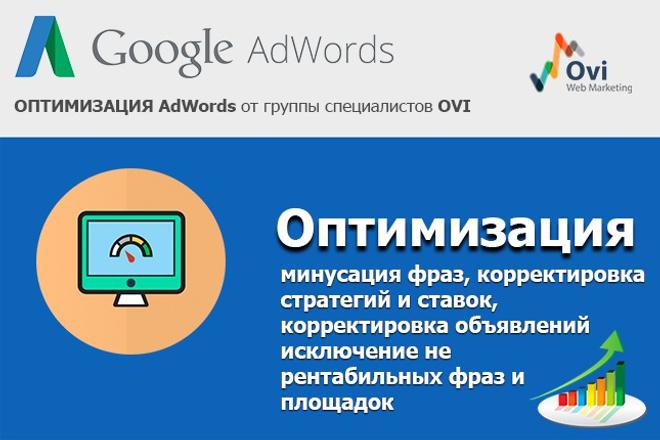 Оптимизирую рекламные кампании в Google AdWords 1 - kwork.ru