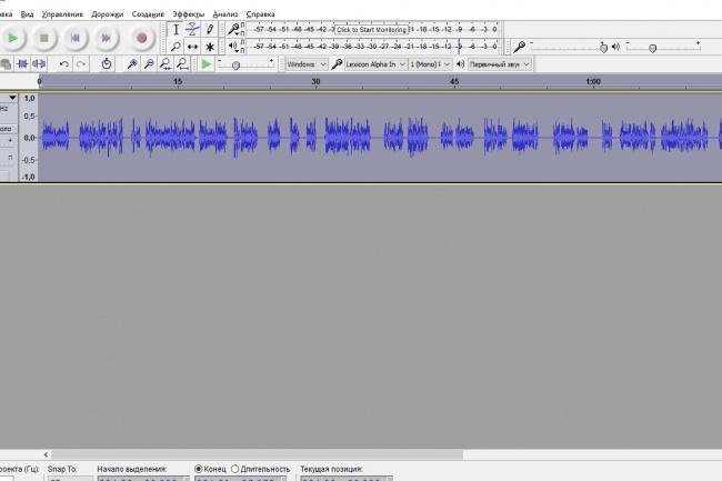 Озвучу ваш текст на качественной аудиоаппаратуре 1 - kwork.ru