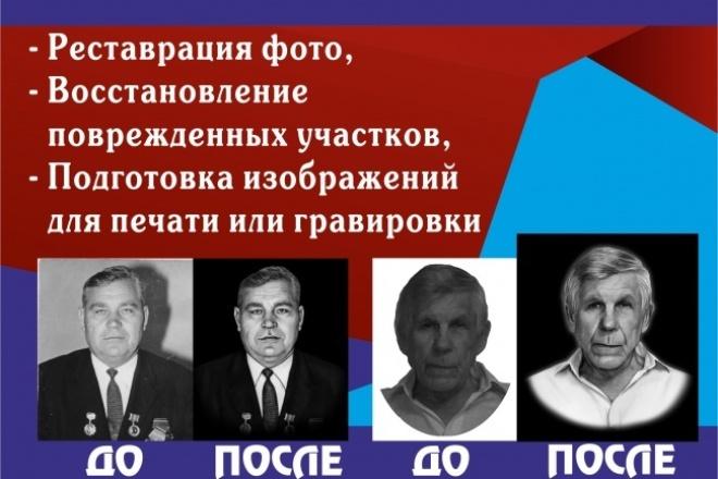 Ретуш фото 1 - kwork.ru