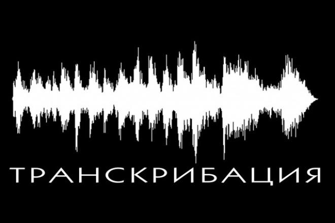Расшифровка аудио и видео в текст 1 - kwork.ru