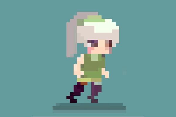 Пиксель-арт персонажИллюстрации и рисунки<br>Здравствуйте. Я разработаю для вас пиксель-арт персонажа, анимацию к нему. Работаю в размерах от 32 на 32 до 64 на 64 пикселя. Также возможна разработка фона. Исходники можете получить в формате PSD или Gif, а так же jpeg и png<br>