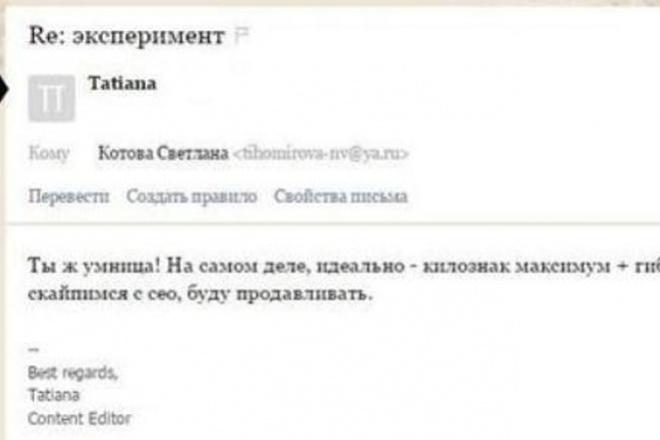 напишу добротный текст 1 - kwork.ru