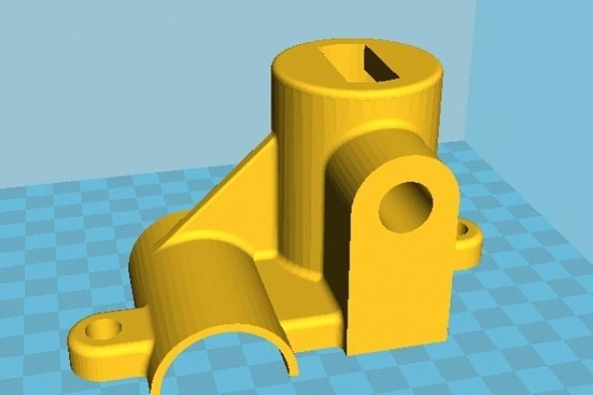 Нарисую 3D модельФлеш и 3D-графика<br>Нарисую 3D модель по вашим эскизам или по фото или по устному или письменному описанию. Сделаю рендеринг и предоставлю исходники<br>