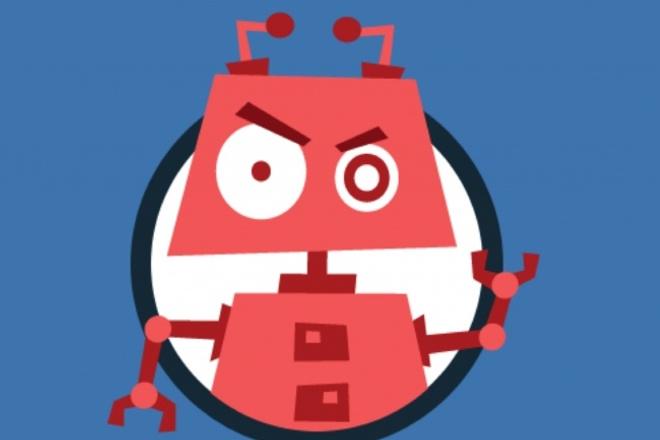Напишу бота для группы ВКонтактеСкрипты<br>Напишу скрипт для ВКонтакте, который может послужить ботом в вашем сообществе. Бот может подходить под работу с клиентами, развлекательный контент. Это уже зависит от ваших нужд.<br>