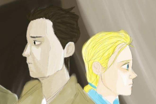 нарисую Вас или Вашего персонажа в комикс-стиле 1 - kwork.ru