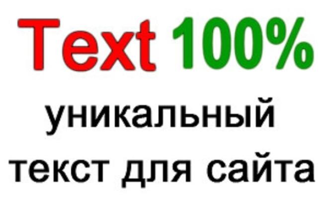 Создам текстовый контент 1 - kwork.ru