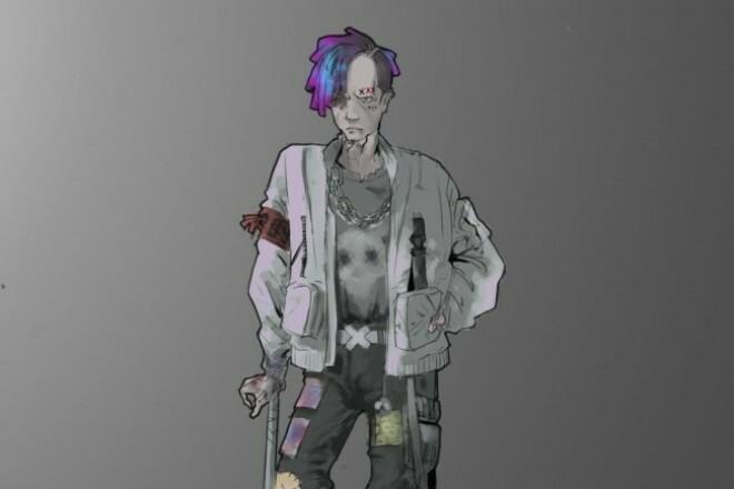 Нарисую CG персонажа, иллюстрацию 1 - kwork.ru