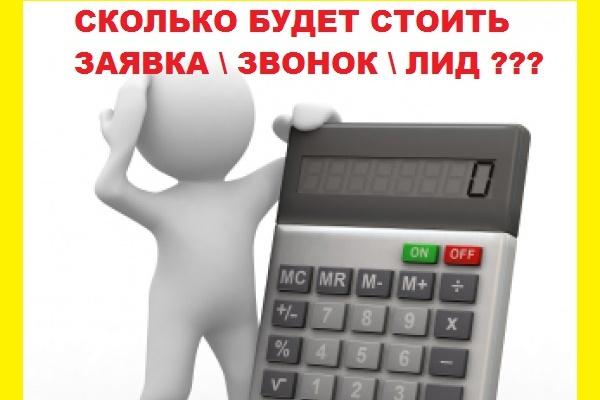 Рассчитаю цену лида, заявки с яндекс директ 1 - kwork.ru