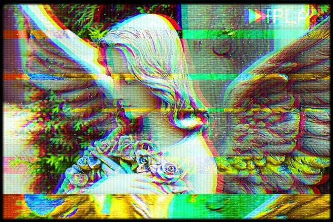 Научу делать эффект помех VHS в Фотошопе и постеры в стиле Lo-Fi 1 - kwork.ru