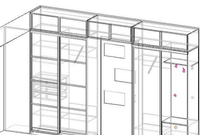 подготовлю пакет документов для производства корпусной мебели 1 - kwork.ru
