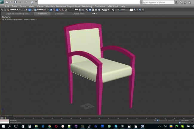 3D модель в 3ds Max 1 - kwork.ru