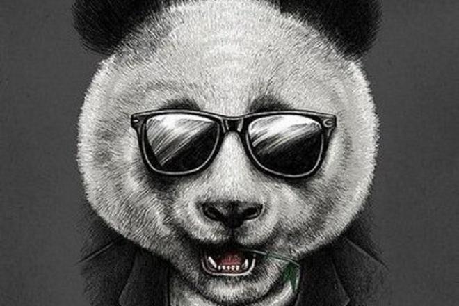 нарисую портрет/арт в стиле PandaFX 1 - kwork.ru