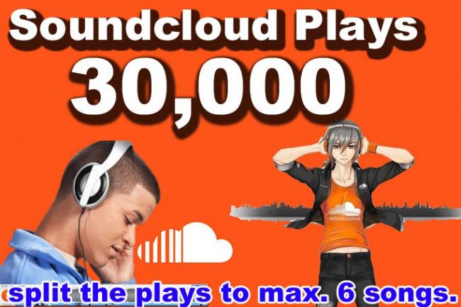 Добавлю 30.000 прослушиваний Soundcloud 1 - kwork.ru