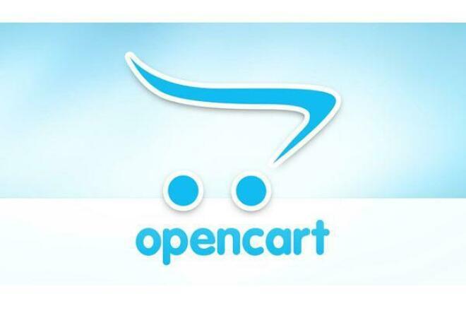 Создание интернет-магазина на OpenCart 1 - kwork.ru