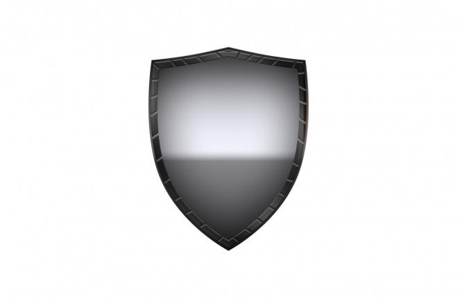 Нарисую подобный щит, напишу что надоЛоготипы<br>Нарисую вам щит, естественно щиты будут не повторяющиеся, напишу на нём что захотите. Делаю быстро, 30 минут - 1 час. В зависимости от моего свободного времени, а свободен я частенько.<br>