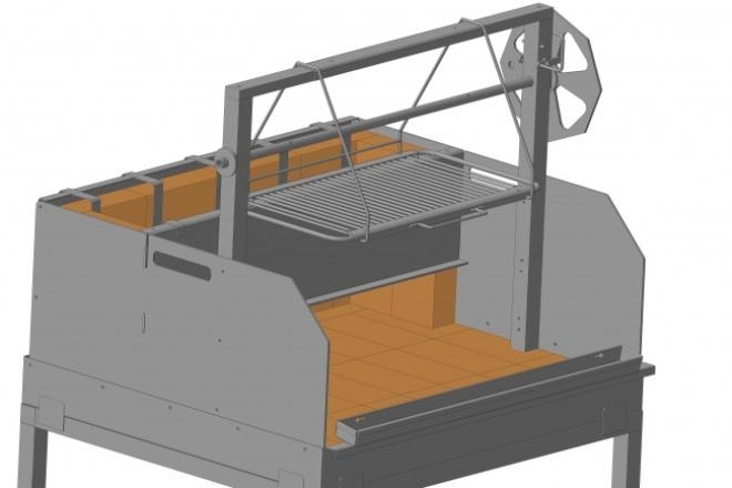 Моделирование и проектирование 3D моделей 1 - kwork.ru