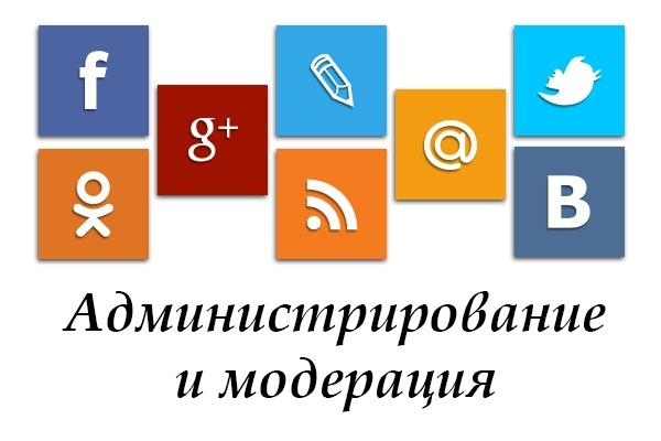 Займусь администрированием Вашего сайта, страницы или группы в соц.сетях 5 дней 1 - kwork.ru