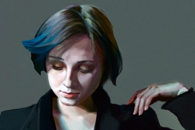 Нарисую портрет в CG 1 - kwork.ru