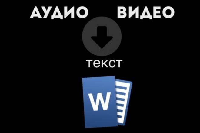 Переведу аудио или видео в текстНабор текста<br>Здравствуйте! Предлагаю вам следующие услуги: Быстро и грамотно перепечатаю текст! Расшифрую лекции, семинары и т.д. Расшифровываю аудио(видео) на русском языке. Если качество аудио (видео) хорошее, заказ выполняется в течение 24х часов. Если качество аудио (видео) среднее, заказ выполняется в течение 2х дней. Если вам срочно нужен результат расшифровки, то он будет сделан в течение 12 часов, но в данном случае вам нужно будет сделать дополнительный заказ. Аудио (видео) не должно длится больше 40 минут. В одном переводе может включатся 4000 символов (включая пробел), если нужны дополнительные символы вам нужно будет доплатить.<br>