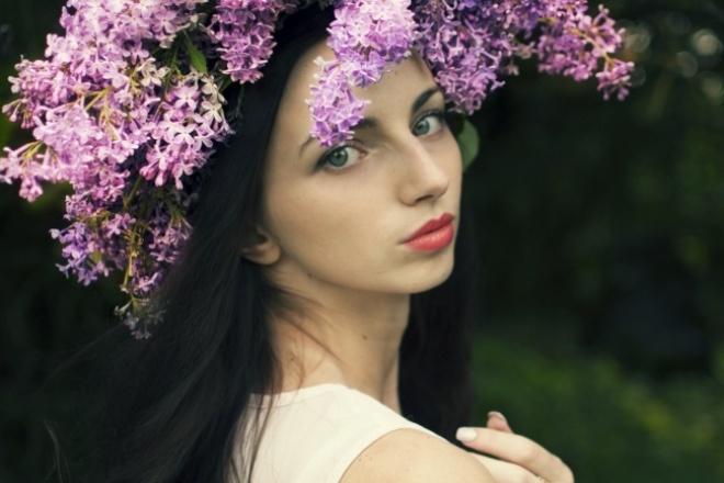 Ретушь фото 1 - kwork.ru