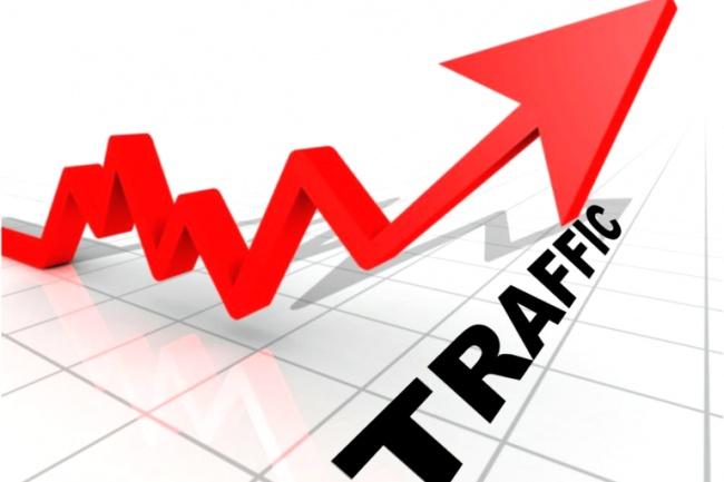300 уников в день в течение месяцаТрафик<br>300 уникальных посетителей на сайт каждый день, в течение месяца. В метрике яндекса трафик идет как поисковый, с разными страницами входа и поисковыми фразами.<br>
