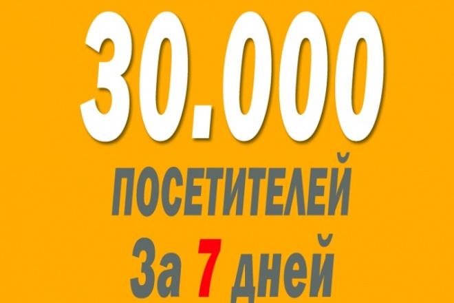 30. 000 русскоязычных посетителей на ваш сайтТрафик<br>Приведу 30. 000 русскоязычных посетителей на ваш сайт за 7 дней! Среднее время пребывания на сайте не меньше 10 секунд! Посещения отображаются в Яндекс. Метрике и Google Analytics! Посетители не выглядят как боты! Не принимаются: Ссылки на youtube видео, ссылки на вредоносные сайты, редирект с одного сайта на другой, укорачиватели ссылок(например vk. cc), сайты без счетчиков посещаемости!<br>