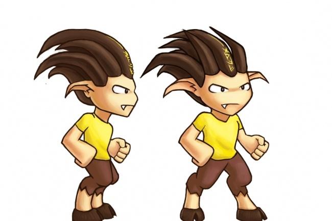 2D арт персонажа 1 - kwork.ru