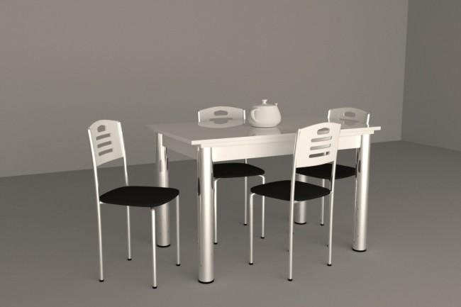 3D Модель мебели 1 - kwork.ru