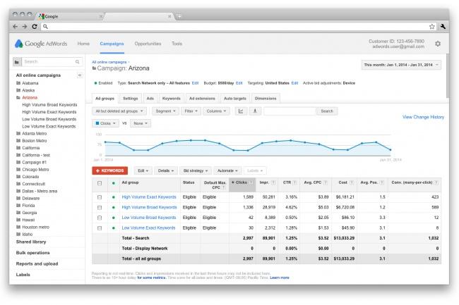 Перенесу из Яндекс Директ в Google Adwords 100 объявленийКонтекстная реклама<br>Помогу перенести вашу компанию из Яндекс Директ в Google Adwords. Новый источник трафика Переходы могут быть дешевле Яндекс Директ, качество трафика на том же уровне Уже готовые, работающие объявления из Директ-кампании будут работать и в Google Что вы получите: Перенос 100 поисковых объявлений со всеми ключевыми запросами. Корректировка знаков препинания, корректности написания заголовков и т.д. (чтобы соответствовать правилам Адвордс). Расстановка модификаторов широкого соответствия, чтобы не сливать рекламный Автоматизация управления ставками через Elama - бесплатно навсегда. Передача всех доступов к аккаунту. Условия: Перенос осуществляется через сервис Elama. Соответственно создается новый Adwords-аккаунт. Аккаунт будет Adwords в долларах. Бонусы: Бесплатно перенесу аккаунт Яндекс Директ в Elama, настрою автоматическое управления ставками (10-60% экономия бюджета).<br>
