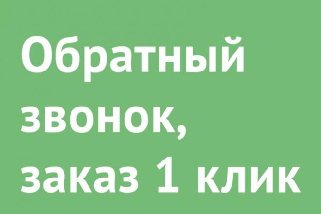 Установлю форму обратной связи, покупку  в 1 клик 1 - kwork.ru