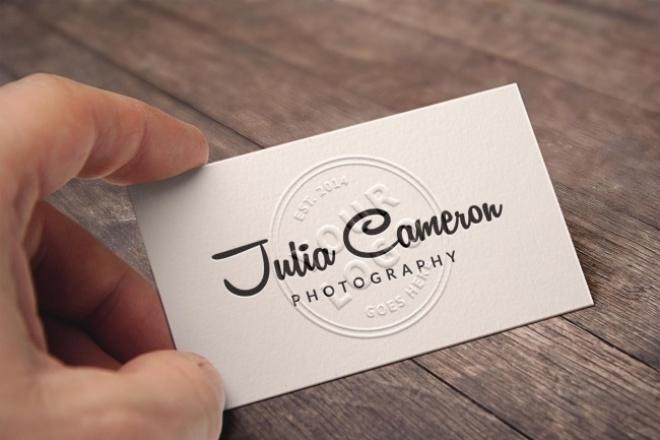 сделаю дизайн визитки и подготовлю ее к печати 1 - kwork.ru
