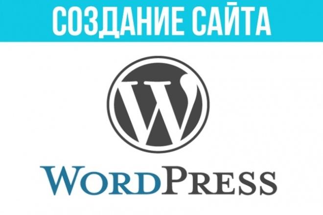 """Создание сайта """"под ключ"""" на wordpress шаблоне (теме) 1 - kwork.ru"""
