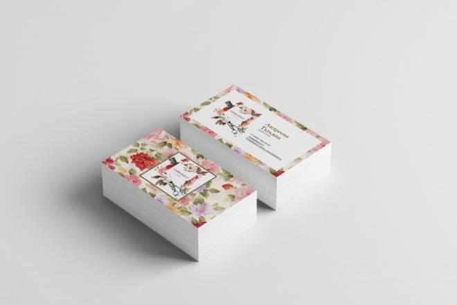 Дизайн визиткиВизитки<br>Вы можете заказать дизайн визитки на ваш вкус. Делаю визитку по вашему утверждению и желанию. Буквально через сутки вы уже можете забрать свой заказ. Вы получите: Дизайн двухсторонней визитки Визитка в формате (jpeg, png) Файл на формате А4 Качественную работу Пишите, мы с вами подберем визитку для вас. Жду для выполнения ваши заказы!!!<br>