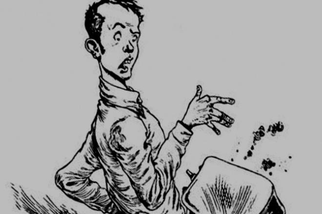 Нарисую юмористическую иллюстрациюИллюстрации и рисунки<br>Рисую юмористические иллюстрации на разные темы . Рисую оперативно в течение одного дня, быстро и качественно<br>