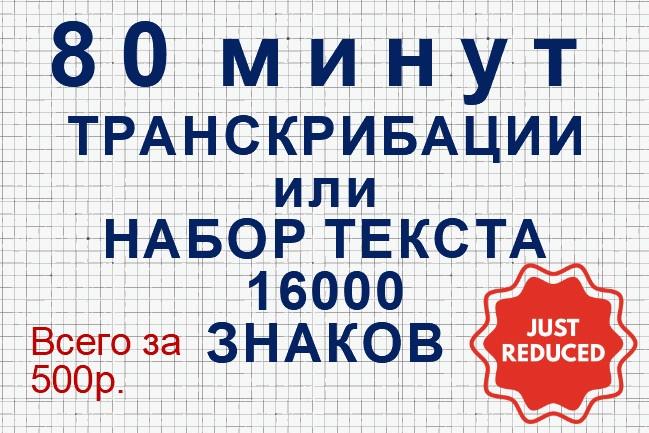 Наберу текст из аудио видео или любого другого источника 1 - kwork.ru