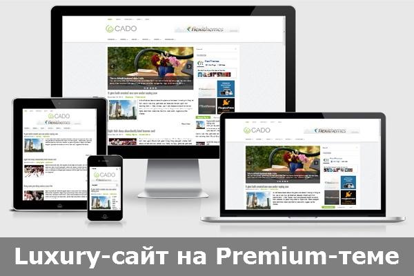 Luxury-сайт на premium-теме cms wordpressСайт под ключ<br>Выберите в представленном ниже файле одну из подходящих вам тем с демо-контентом и пакет услуг. Эконом Установка на ваш хостинг CMS WordPress, premium-темы и указанного вами варианта демо-сайта с необходимыми настройками. Стандарт Установка на ваш хостинг CMS WordPress, premium-темы и указанного вами варианта демо-сайта. Я размещу ваш контент (лого, тексты, изображения, контакты, меню, баннеры и пр.) в рамках выбранного демо-сайта , добавлю нужные вам страницы и элементы (с дизайном как в демо), а также удалю лишние. Произведу настройку и расширение функционала (например, отправка данных из форм обратной связи на ваш e-mail и др.). Бизнес Установка на ваш хостинг CMS WordPress и premium-темы; разработка на её основе уникального дизайна сайта и размещение вашего контента. Если вам понравились отдельные элементы или решения из разных демо-сайтов в пределах выбранной темы , я использую их в работе над вашим сайтом. Расширю функционал темы в соответствии с вашими требованиями. Выполню авторский перевод стандартных надписей в теме и плагинах (если в теме предлагается выбрать автомобиль, а вы продаёте самолёты, я внесу изменения в перевод согласно вашего бизнеса).<br>