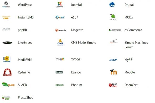 Сайт на любом движке, на бесплатном хостинге 1 - kwork.ru
