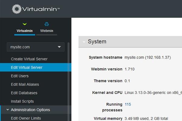 Установка панели Virtualmin на Linux сервер 1 - kwork.ru
