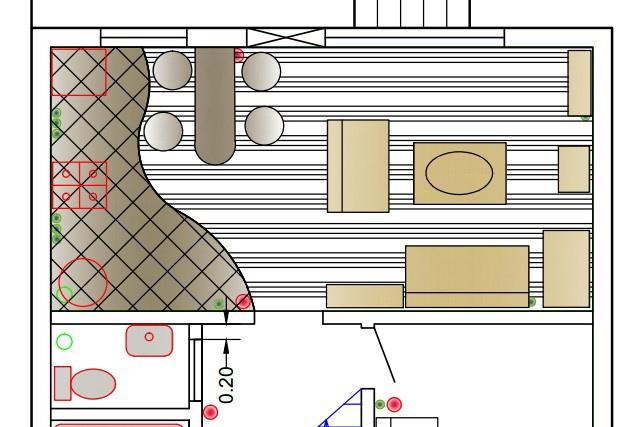 Нарисую любую схему или план в программе AutoCAD 1 - kwork.ru