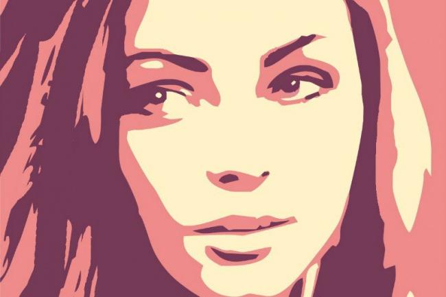Сделаю для вас портрет в стиле Pop Art (2 эскиза) 1 - kwork.ru